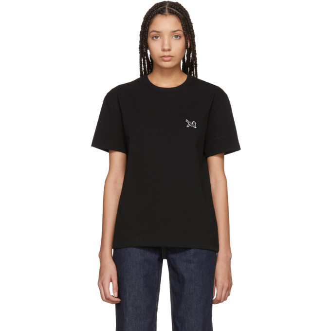 Image of Calvin Klein 205W39NYC White Embroidered Brooke T-Shirt