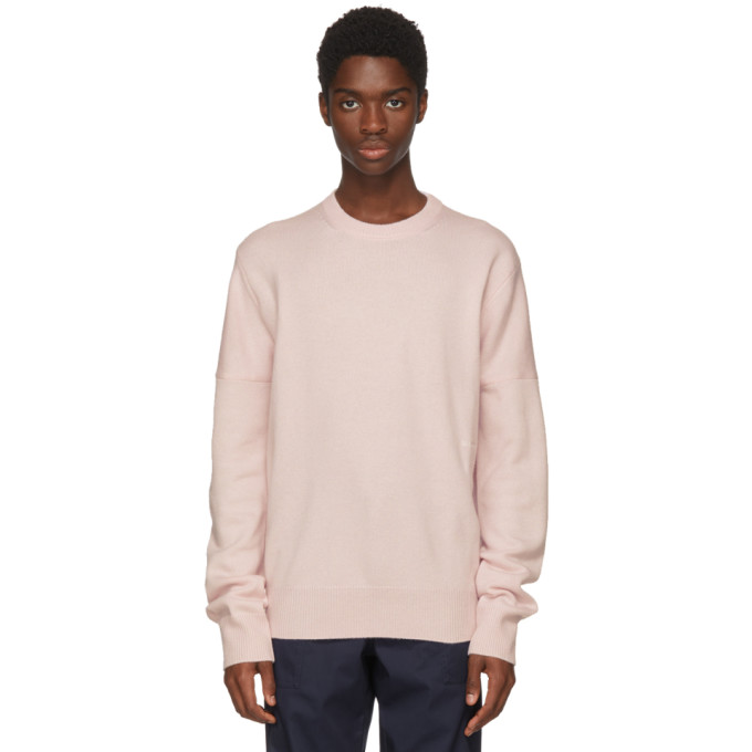 Image of Calvin Klein 205W39NYC Pink Cashmere Sweater