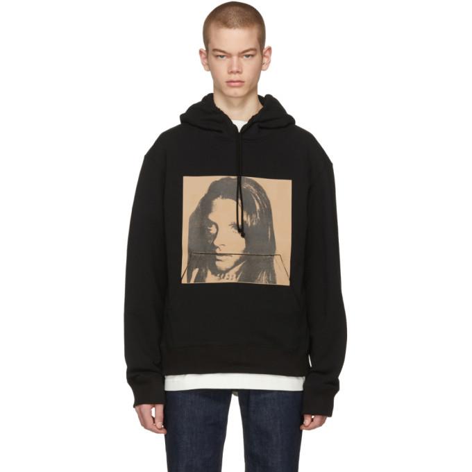 Calvin Klein 205W39NYC Black Sandra Brant Hoodie