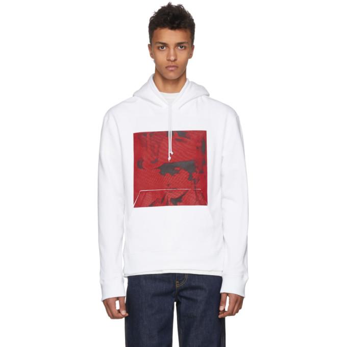 Calvin Klein 205W39NYC White Dennis Hopper Hoodie
