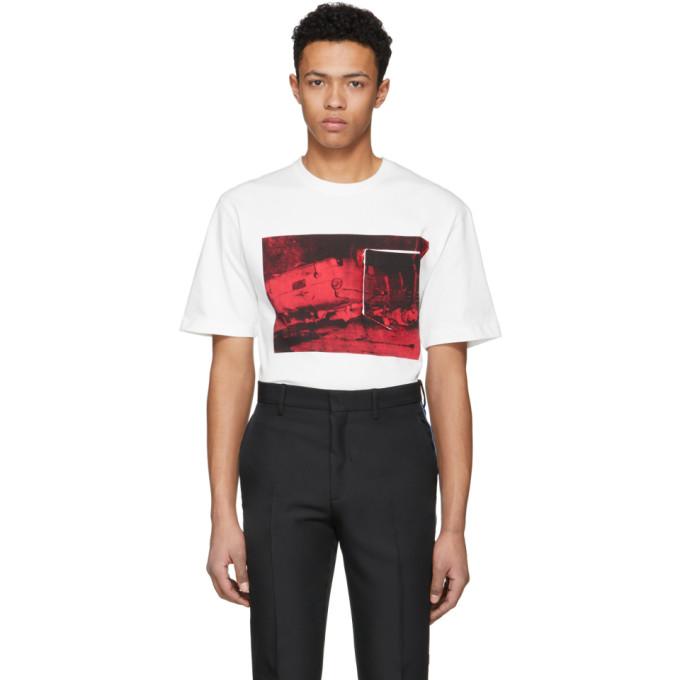 Calvin Klein 205W39NYC Off-White Printed T-Shirt