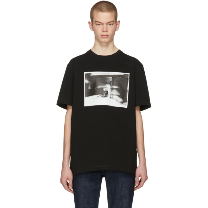 Calvin Klein 205W39NYC Black Electric Chair Pocket T-Shirt