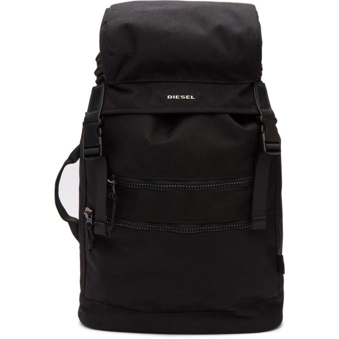 Diesel Black F-Urbhanity II Backpack