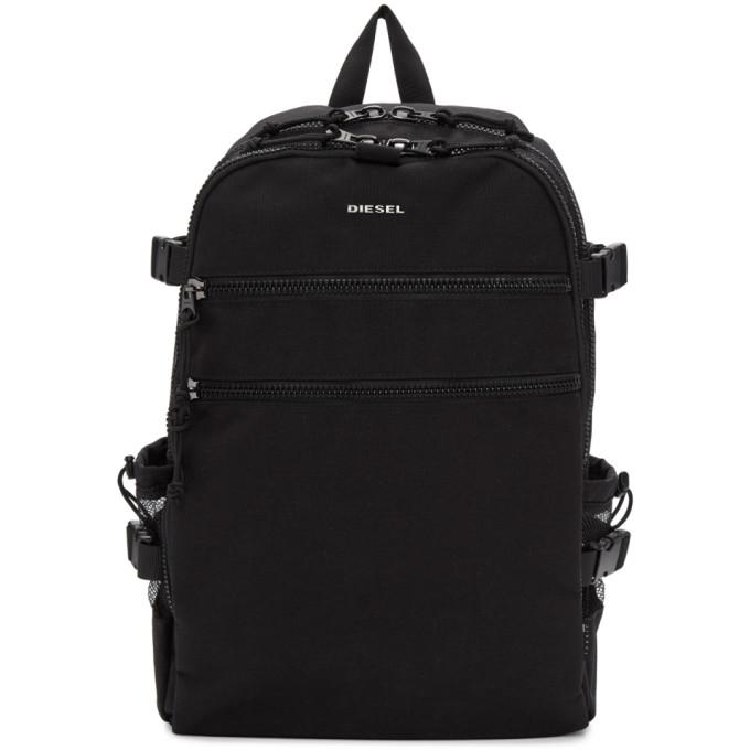 Diesel Black F-Urbhanity Backpack
