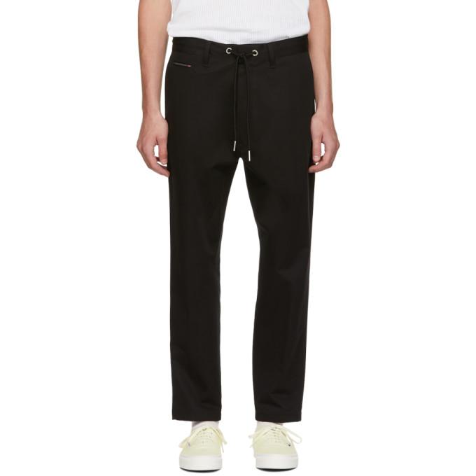 Diesel Black P Morgan Drawstring Trousers