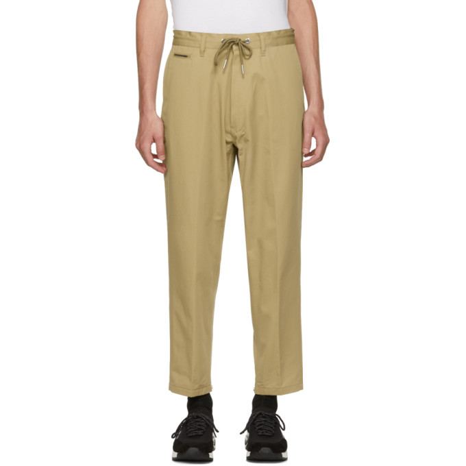 Image of Diesel Beige P-Morgan Trousers