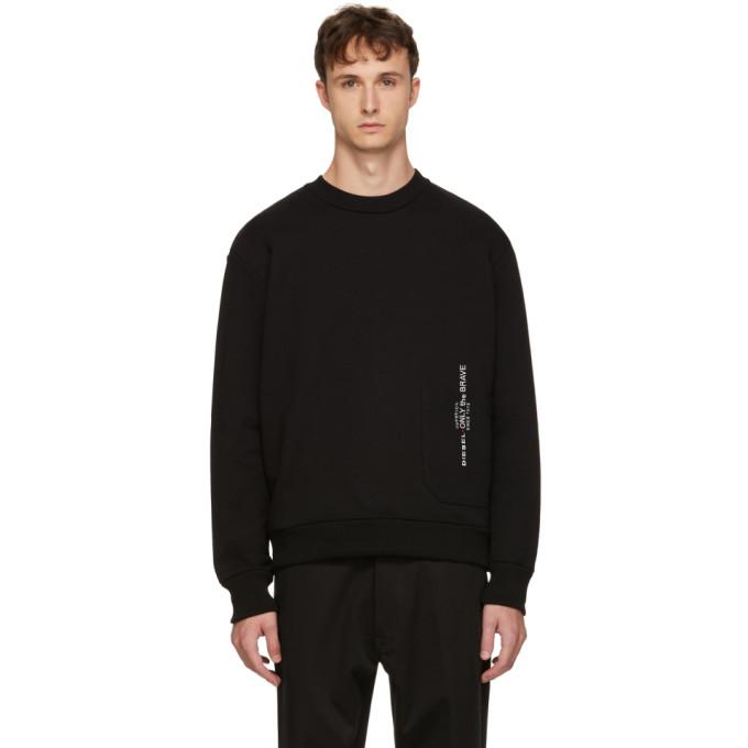 Diesel Black S-Ellis Sweatshirt