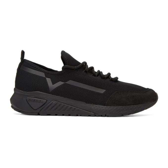 Diesel Black S-KBY Sneakers