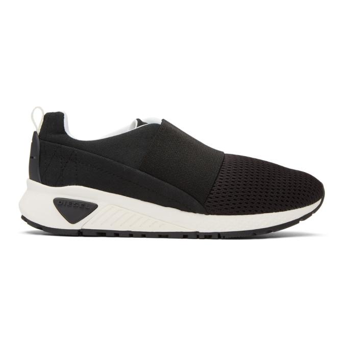 Diesel Black S-KB Elastic Sneakers