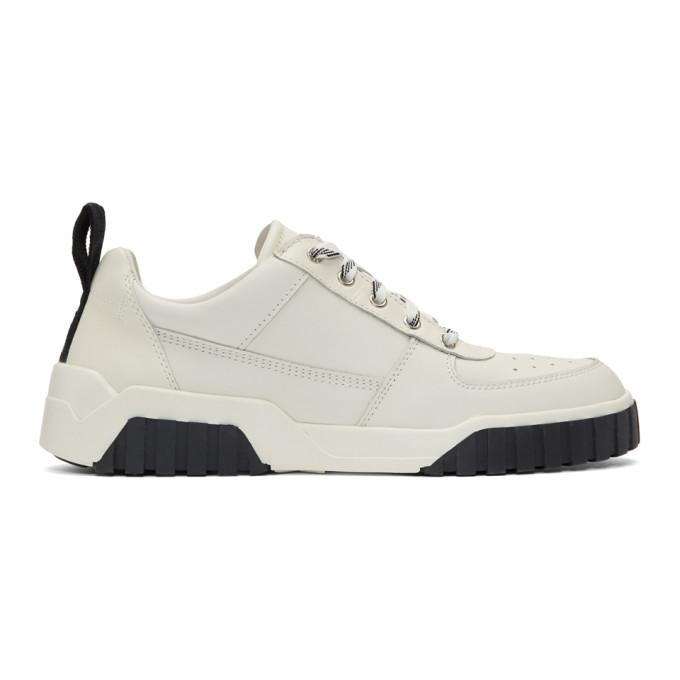 Diesel White S-RUA LC Sneakers