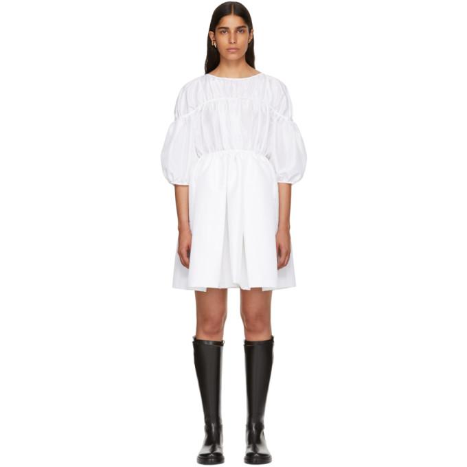 CECILIE BAHNSEN WHITE CHARLOTTE DRESS