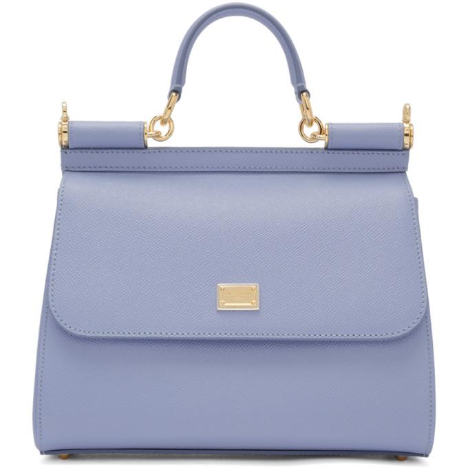 Dolce & Gabbana Blue Medium Miss Sicily Bag