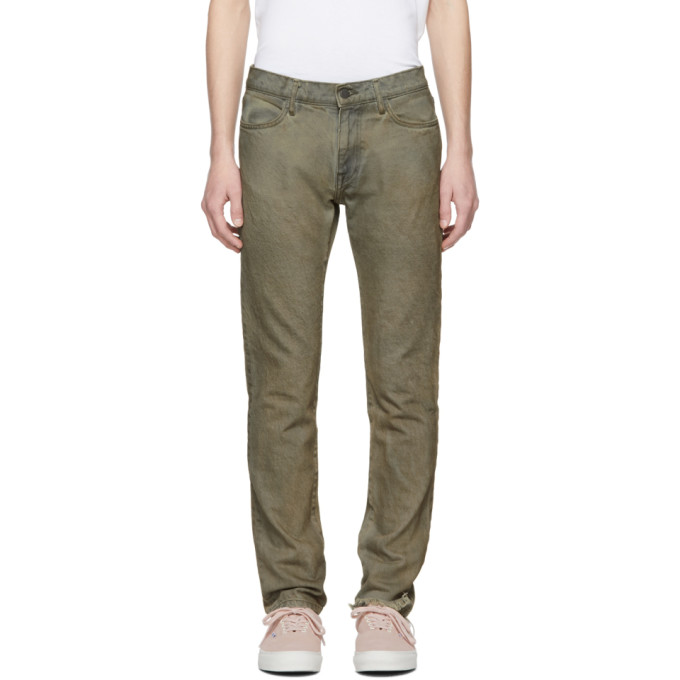 Image of 424 Grey Mechanic Jeans