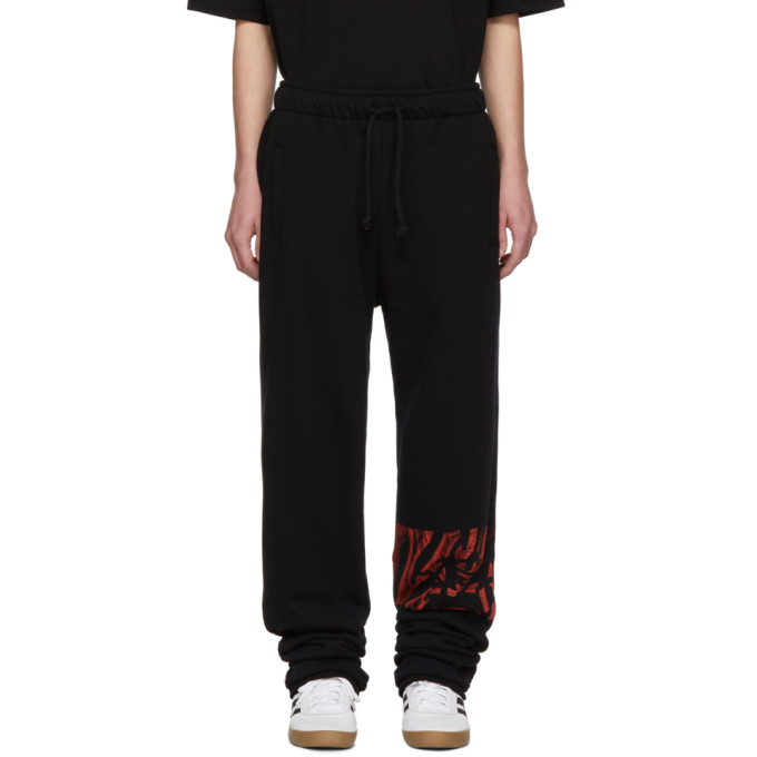 Image of 424 Black Logo Lounge Pants