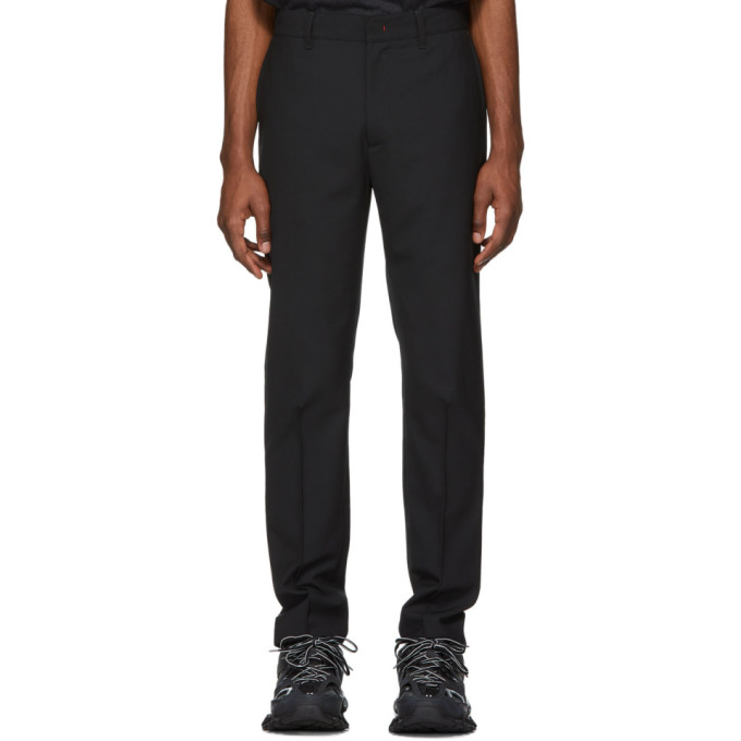 Image of 424 Black Tapered Trousers