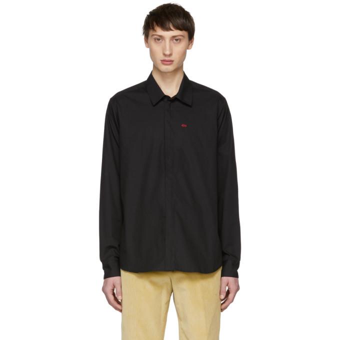 424 Black Logo Dress Shirt