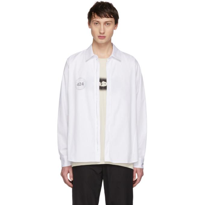 424 Chemise blanche