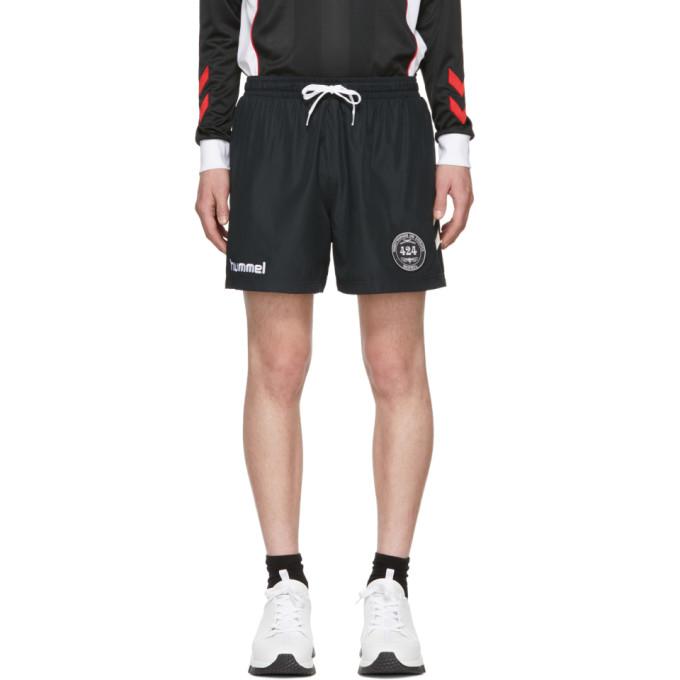 Image of 424 Black Hummel Edition Training Shorts