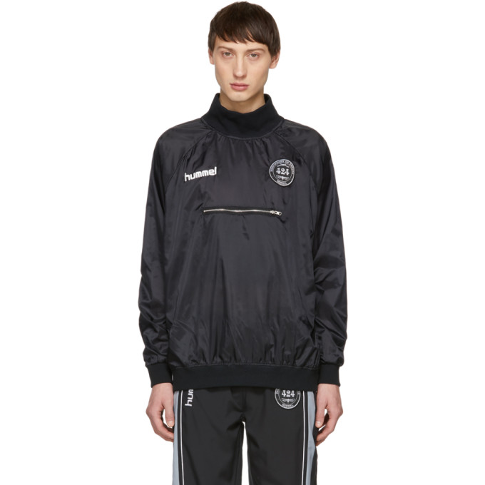 Image of 424 Black Hummel Edition Spray Sweatshirt