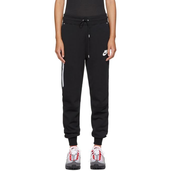 Nike Black Sportswear Tech Fleece Lounge Pants