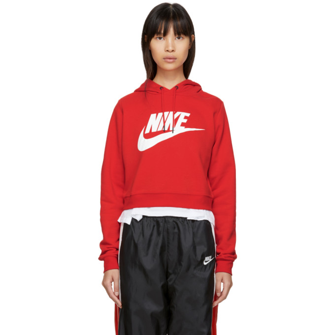picked up recognized brands professional sale Nike Red NSW Rally Hoodie