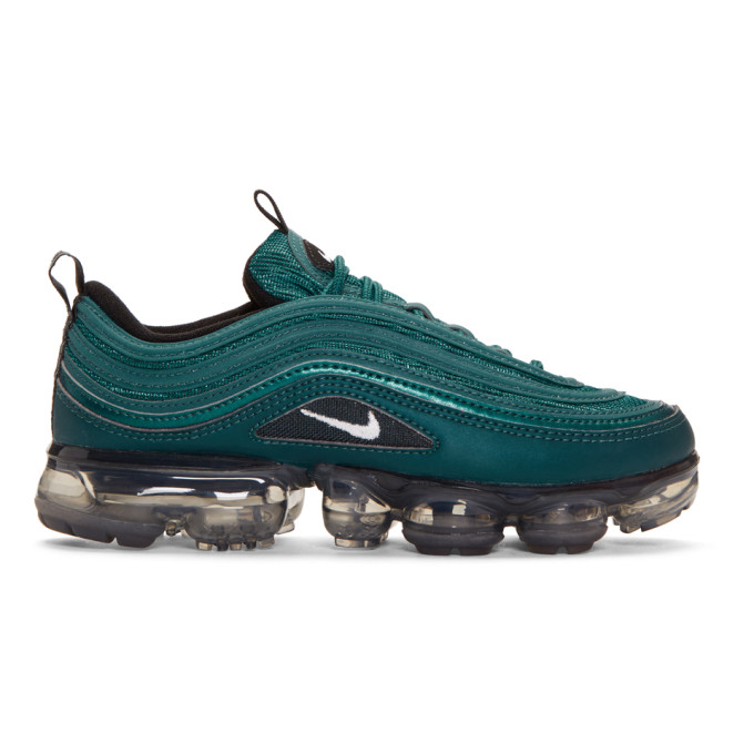 Nike Green Nike Air Vapormax 97 Sneakers