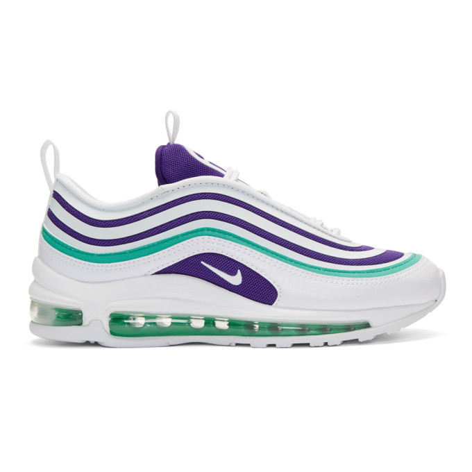 Nike White Air Max 97 Ultra '17 SE Sneakers