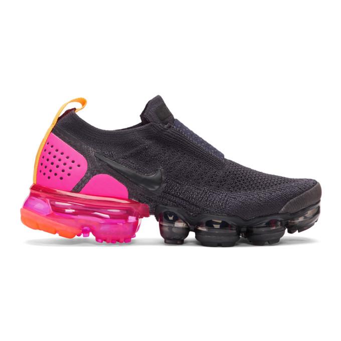 Nike Navy Air VaporMax Flyknit MOC 2 Sneakers