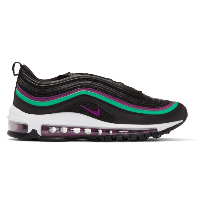 Nike Black & Purple Air Max '97 Sneakers