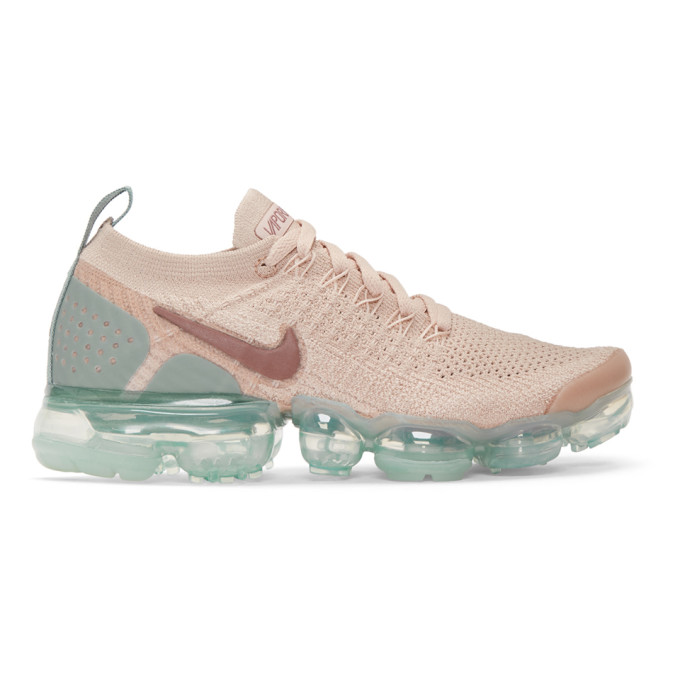 Women'S Air Vapormax Flyknit 2 Running Shoes, Brown in 203 Beige
