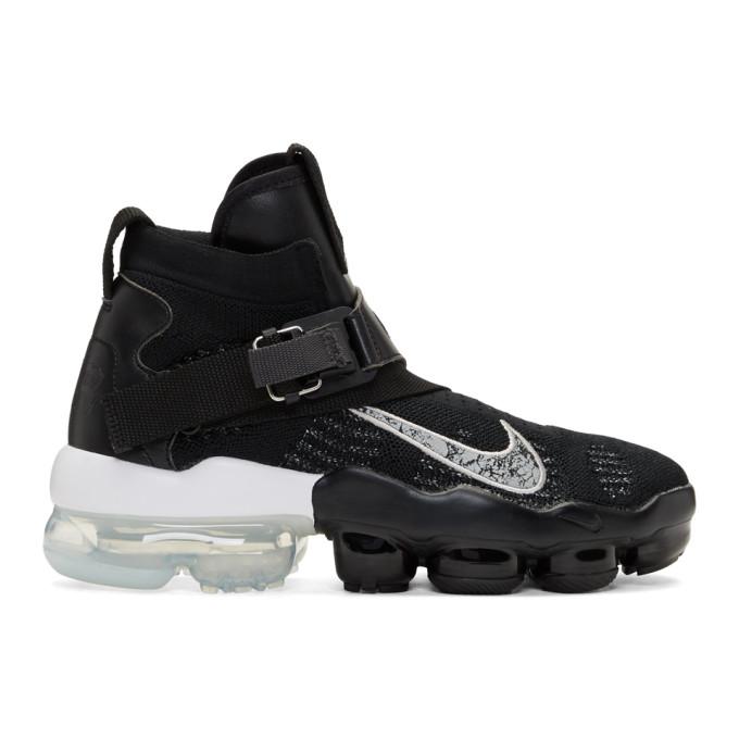 Nike Black & Silver VaporMax Premier Flyknit Sneakers