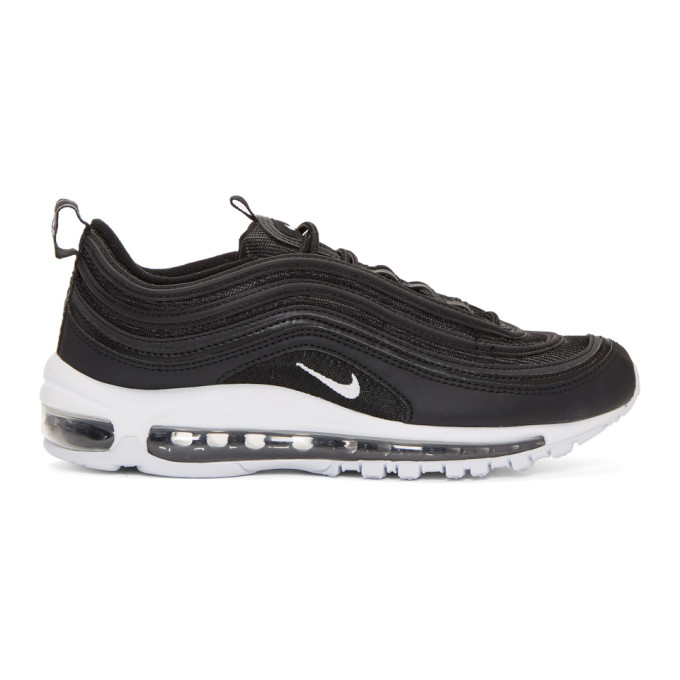 Nike Black & White Air Max 97 Sneakers