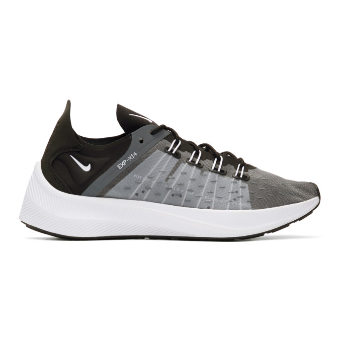 Nike Black & Grey EXP-X14 Sneakers