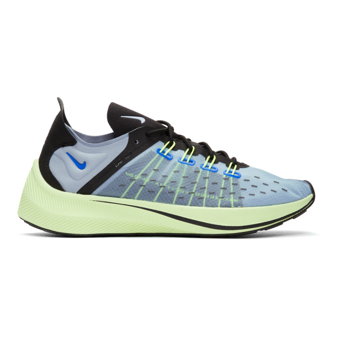 Nike Blue & Green EXP-X14 Sneakers