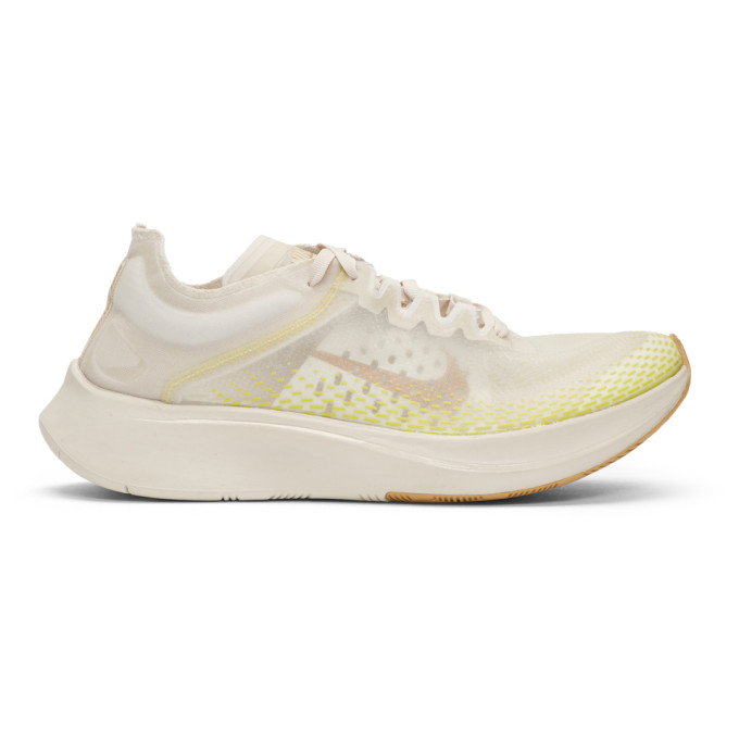 Nike Brown & Gold Zoom Fly SP Fast Sneakers