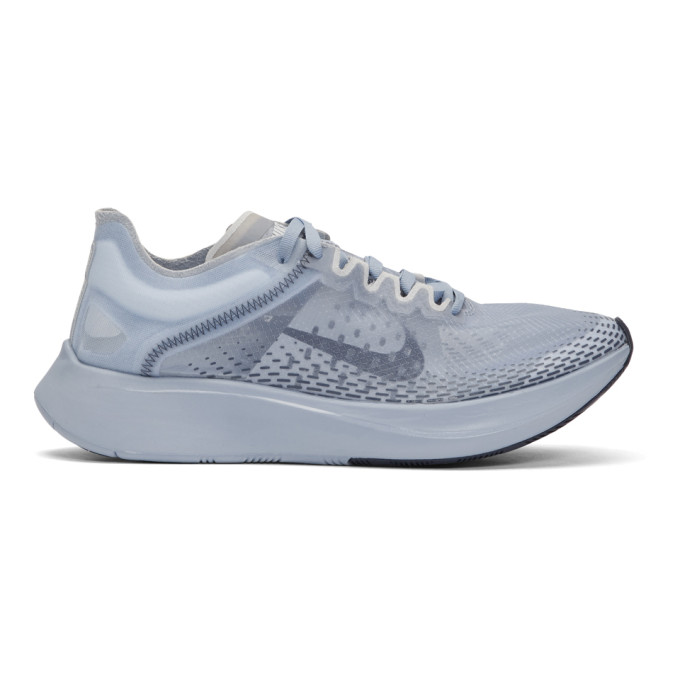 Nike Blue Zoom Fly SP Fast Sneakers