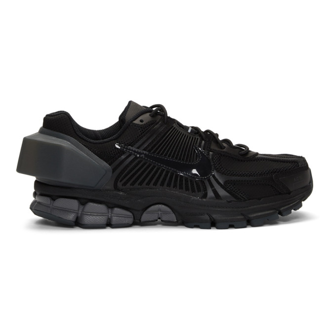 Image of Nike Black A-Cold-Wall* Edition Zoom Vomero +5 Sneakers