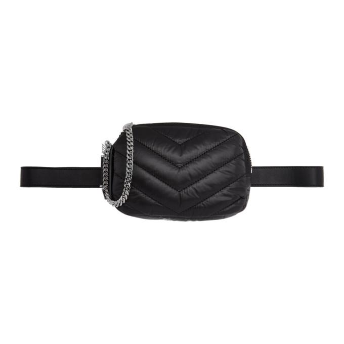 Mackage Black Jayme Belt Pouch in Black/Gunme