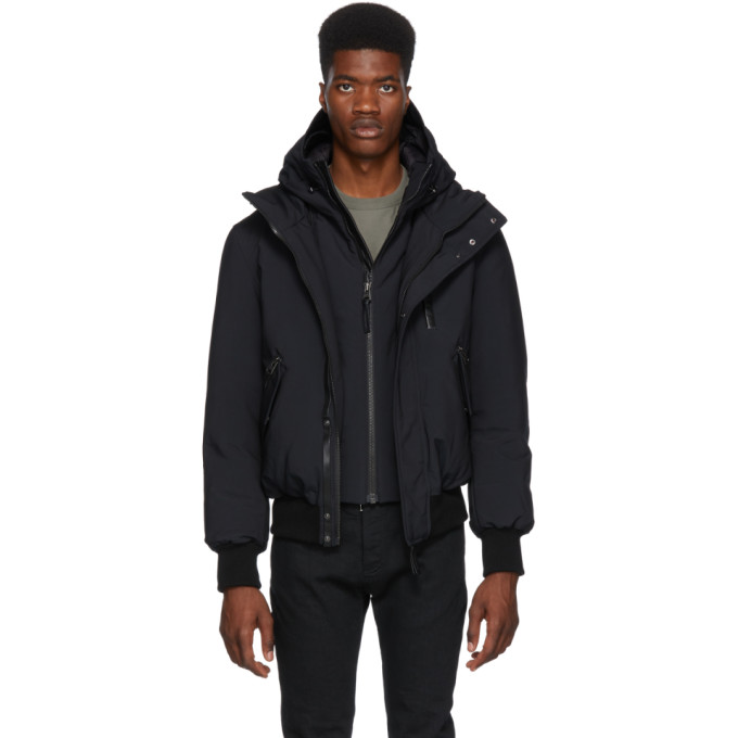 Image of Mackage Black Down Denton Jacket