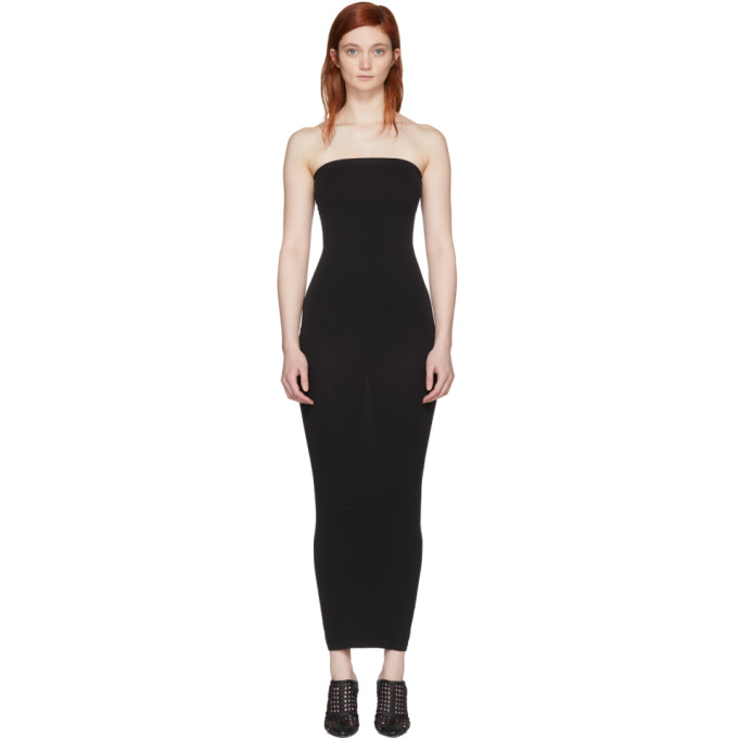 Image of Wolford Black Convertible Fatal Dress