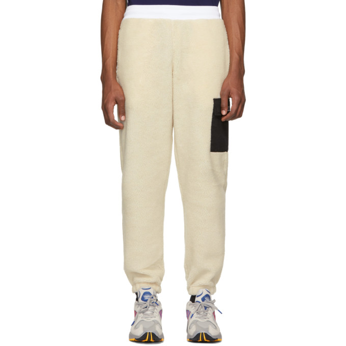 Image of Thames Off-White Sherpa Lounge Pants