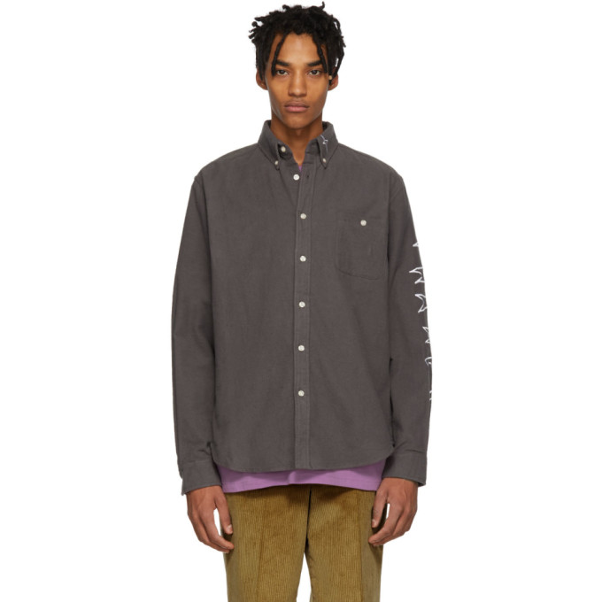 Image of Thames Grey Flannel Espy Shirt