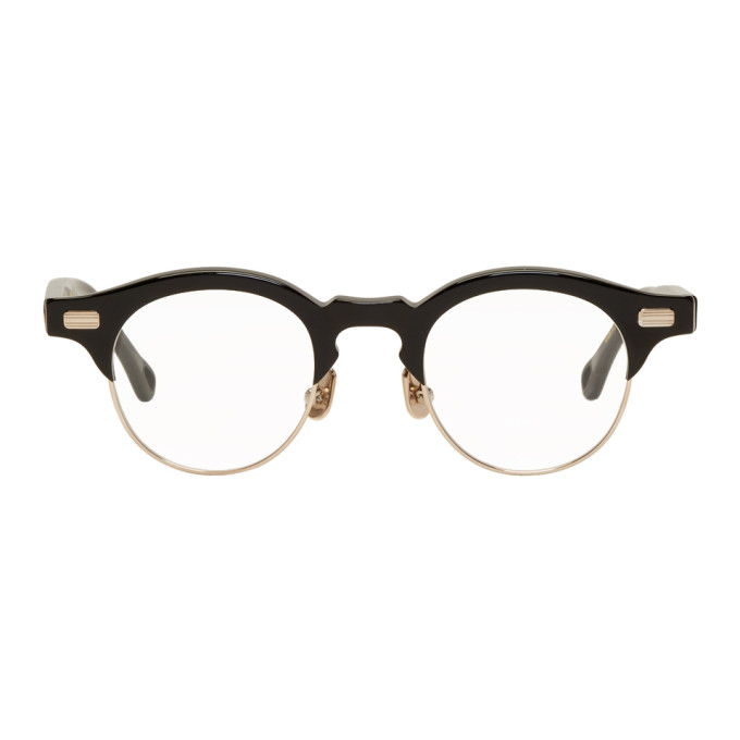 Image of Native Sons Black & Gold Hitchcock Glasses