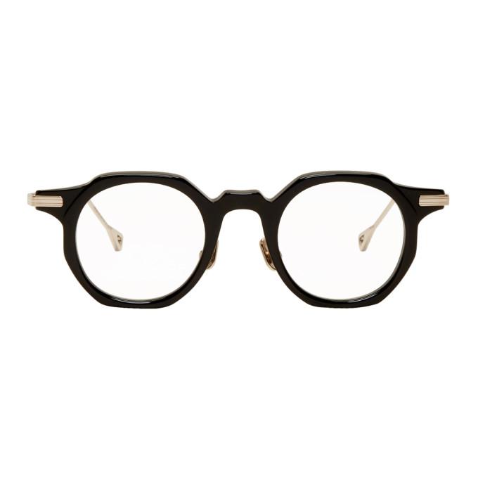 Image of Native Sons Black & Gold Bradbury Glasses
