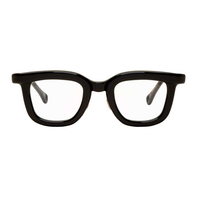 Image of Native Sons Black Winfield Glasses