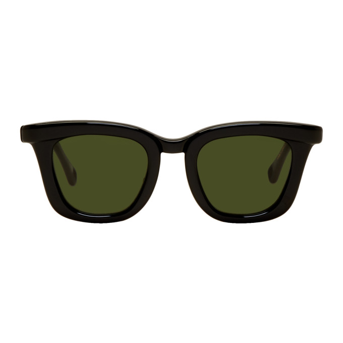 Image of Native Sons Black Rickenbacker Sunglasses