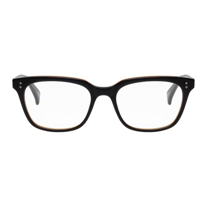 Image of RAEN Black & Tan Emerson Glasses