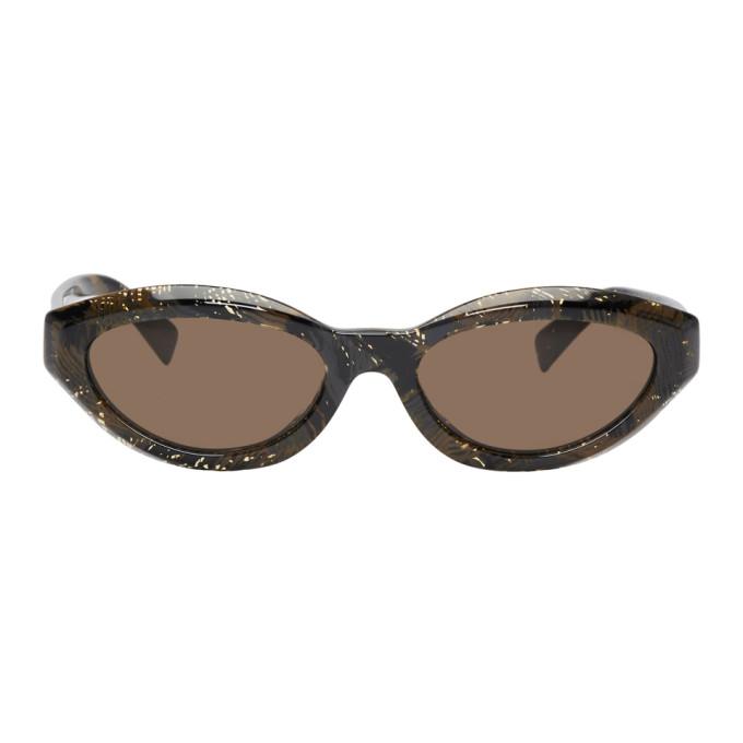 4638e061e9 Oliver Peoples Alain Mikli Paris Brown Desir Sunglasses In 003 73Palmi