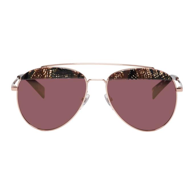 de6dcba4d9 Oliver Peoples Alain Mikli Paris Gold Paon Sunglasses In 014 E4Palmi