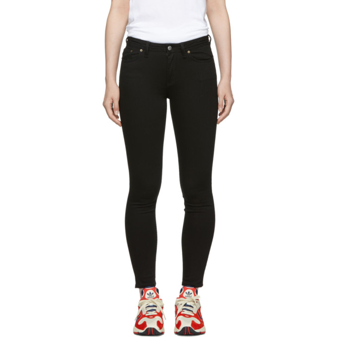 Image of Acne Studios Blå Konst Black Climb Jeans